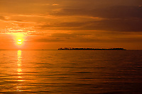 Indonesian sunset taken at Wakatobi, Indonesia, Pacific Ocean