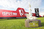 ISPS Handa Wales Open Announcement at the Celtic Manor Resort..Wales Open Trophy.28.11.11.©Steve Pope