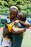 Netherlands vs South Africa during the Day 2 of the IRB Women's Sevens Qualifier 2014 at the Skek Kip Mei Stadium on September 13, 2014 in Hong Kong, China. Photo by Aitor Alcalde / Power Sport Images