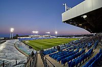 16th March 2021; Madrid, Spain;  General view of Alfredo Di Stefano Stadium during the Champions League match, round of 16, between Real Madrid and Atalanta played at Alfredo Di Stefano Stadium