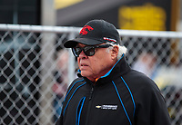 Feb 23, 2020; Chandler, Arizona, USA; Former NHRA driver Don Prudhomme during the Arizona Nationals at Wild Horse Pass Motorsports Park. Mandatory Credit: Mark J. Rebilas-USA TODAY Sports