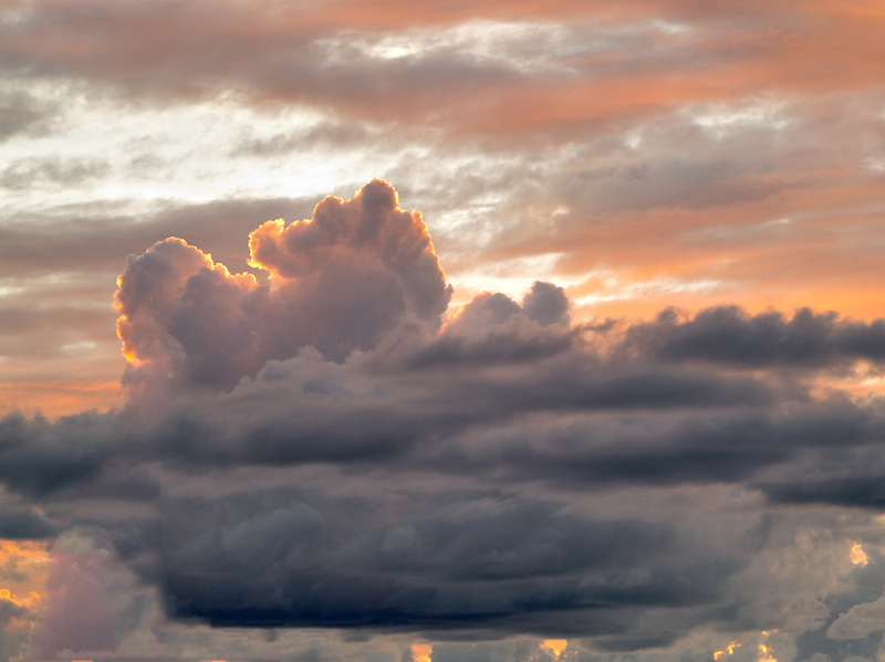 Clouds over St. John.