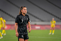 21st July 2021. Tokyo, Japan;   OLYMPIC GAMES TOKYO 2020- Ali Riley 7 from New Zealand during the Australia and New Zealand football match at the 2021 Tokyo Olympic Games held in 2021 in Tokyo, Japan.