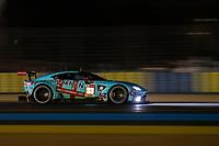 #33 TF Sport Aston Martin Vantage AMR LMGTE Am, Ben Keating, Dylan Pereira, Felipe Fraga, 24 Hours of Le Mans , Free Practice 2, Circuit des 24 Heures, Le Mans, Pays da Loire, France