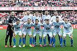 Real Club Deportivo de la Coruña's team during La Liga 2 match. February 10,2019. (ALTERPHOTOS/Alconada)