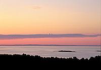 Sunrise from Vasskalven Island.