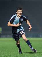 Luke O'Nien of Wycombe Wanderers during the Sky Bet League 2 match between Wycombe Wanderers and Notts County at Adams Park, High Wycombe, England on 15 December 2015. Photo by Andy Rowland.