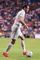 Real Madrid's player Gareth Bale during the XXXVII Santiago Bernabeu Trophy in Madrid. August 16, Spain. 2016. (ALTERPHOTOS/BorjaB.Hojas) /NORTEPHOTO