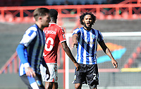 Sheffield Wednesday's Isaiah Brown shouts instructions to his team mate <br /> <br /> Photographer Ian Cook/CameraSport<br /> <br /> The EFL Sky Bet Championship - Bristol City v Sheffield Wednesday - Sunday 27th September, 2020 - Ashton Gate - Bristol<br /> <br /> World Copyright © 2020 CameraSport. All rights reserved. 43 Linden Ave. Countesthorpe. Leicester. England. LE8 5PG - Tel: +44 (0) 116 277 4147 - admin@camerasport.com - www.camerasport.com