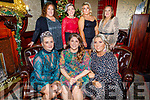 Staff of Abbey Hair Studio and Bold and Beautiful Beauty Salon enjoying their Christmas party in the Grand Hotel on Saturday.<br /> Seated l to r: Tracy Parkinson, Noelle Hegarty and Helena O'Leary.<br /> Back l to r: Lorraine McElligott, Louise Hannifin, Aideen Spillane and Deborah Fealy.