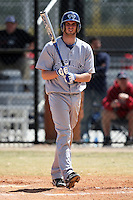 March 15, 2010:  Stephen McKernan of the Roger Williams University Hawks in a game vs Fontbonne University at Lake Myrtle Park in Auburndale, FL.  Photo By Mike Janes/Four Seam Images