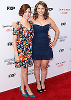 HOLLYWOOD, LOS ANGELES, CA, USA - JULY 14: Judy Greer, Kether Donohue at the Los Angeles Premiere Of FX's 'You're The Worst' And 'Married' held at Paramount Studios on July 14, 2014 in Hollywood, Los Angeles, California, United States. (Photo by Xavier Collin/Celebrity Monitor)