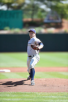 ***Temporary Unedited Reference File***Northwest Arkansas Naturals starting pitcher Jake Junis (22) during a game against the Springfield Cardinals on April 27, 2016 at Hammons Field in Springfield, Missouri.  Springfield defeated Northwest Arkansas 8-1.  (Mike Janes/Four Seam Images)