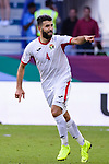 Baha' Abdelrahman of Jordan celebrates after scoring his goal during the AFC Asian Cup UAE 2019 Round of 16 match between Jordan (JOR) and Vietnam (VIE) at Al Maktoum Stadium on 20 January 2019 in Dubai, United Arab Emirates. Photo by Marcio Rodrigo Machado / Power Sport Images