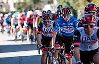 GC leader Tadej Pogačar (SVN/UAE-Emirates)<br /> <br /> Stage 6 from Castelraimondo to Lido di Fermo (169km)<br /> <br /> 56th Tirreno-Adriatico 2021 (2.UWT) <br /> <br /> ©kramon