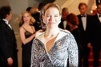 Lea Seydoux quitte le Palais des festivals après la projection du film 'Juste la fin du monde' lors du 69ème Festival du Film à Cannes le jeudi 19 mai 2016.
