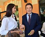 """PIETRANGELO BUTTAFUOVO<br /> PRESENTAZIONE LIBRO """"MARIO DRAGHI. IL RITORNO DEL CAVALIERE BIANCO"""" DI ROBERTO NAPOLETANO.<br /> CASA DEL CINEMA ROMA 2021"""