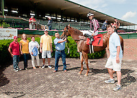 Baby Fresh winning at Delaware Park on 6/12/13