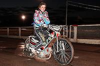 New Lakeside Hammers signing Adam Ellis - Lee Richardson Memorial Speedway Meeting at Arena Essex Raceway, Purfleet - 28/09/12 - MANDATORY CREDIT: Gavin Ellis/TGSPHOTO - Self billing applies where appropriate - 0845 094 6026 - contact@tgsphoto.co.uk - NO UNPAID USE.