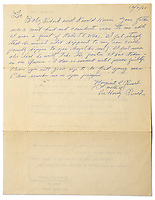 BNPS.co.uk (01202 558833)<br /> Pic: NateD.Sanders/BNPS<br /> <br /> A rare letter by the mother of Lee Harvey Oswald in which she insists her 'innocent' son was framed for the murder of JFK has come to light.<br /> <br /> Marguerite Oswald leapt to the defence of the 24-year-old in the letter that she wrote in 1966, three years after the assassination of the US president and the subsequent murder of her son.<br /> <br /> She rubbished the official report into the assassination that concluded that Oswald had acted alone, implying early on that it was a conspiracy involving others.