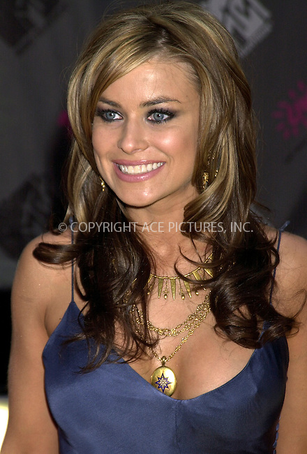 Carmen Electra at 2003 Video Music Awards. New York, August 28, 2003. Please byline: NY Photo Press.   ..*PAY-PER-USE*      ....NY Photo Press:  ..phone (646) 267-6913;   ..e-mail: info@nyphotopress.com