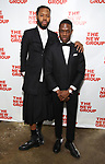 Jeremy O. Harris and Ronald Peet during the New Group Annual Gala at Tribeca Rooftop on March 11, 2019 in New York City.