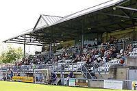 The main stand - Dorchester vs Dagenham & Redbridge 17/07/2010 - MANDATORY CREDIT: Dave Simpson/TGSPHOTO - Self billing applies where appropriate - 0845 094 6026 - contact@tgsphoto.co.uk -NO UNPAID USE
