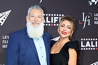 LOS ANGELES - JUN 2:  Christopher Acebo, Christina Urias at the 7th and Union Premiere -  Los Angeles Latino International Film Festival at the TCL Chinese Theater IMAX on June 2, 2021 in Los Angeles, CA