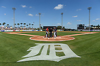 General view before a Detroit Tigers spring training game against the St. Louis Cardinals on March 3, 2014 at Joker Marchant Stadium in Lakeland, Florida.  Detroit defeated St. Louis 8-5.  (Mike Janes/Four Seam Images)