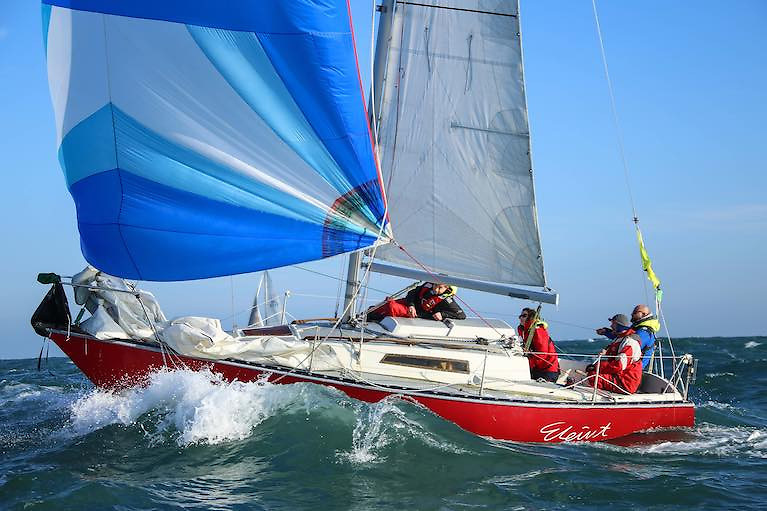 The Trapper Eleint was the 2019 DBSC Turkey Shoot winner and competes in the 2021 Cruisers III Championships Photo: Afloat