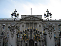 Buckingham Palace, home to the British royal family