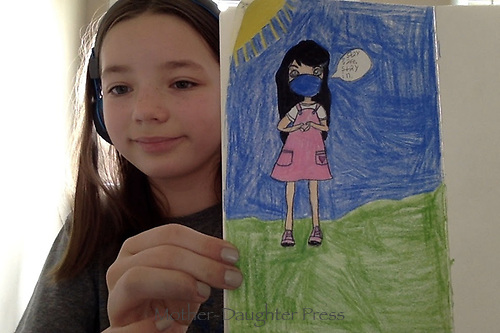 Stay safe! Drawing by Natalie Coolidge Grade 5, Yarmouth, ME, USA