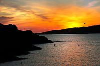 SC - Prov. SUTHERLAND<br /> Sunset Achmelvich Bay (A837/B869 from Lochinver)<br /> <br /> Full size: 69,2 MB