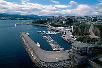 Meeresarm von Ribadeo, Galicien, Spanien
