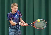 Wateringen, The Netherlands, March 16, 2018,  De Rhijenhof , NOJK 14/18 years, Nat. Junior Tennis Champ. Abel Forger (NED)<br />  Photo: www.tennisimages.com/Henk Koster