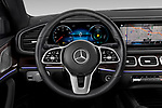 Car pictures of steering wheel view of a 2020 Mercedes Benz GLS GLS450 5 Door SUV Steering Wheel