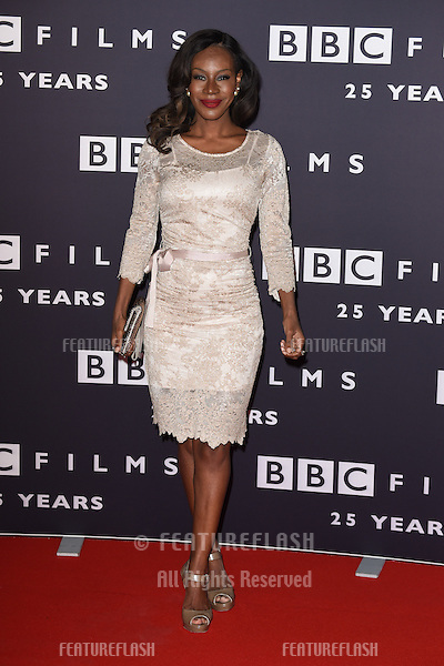 Amma Asante arrives for the BBC Films' 25th Anniversary Reception at Radio Theatre, New Broadcasting House, London. 27/03/2015 Picture by: Steve Vas / Featureflash