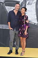"Ol Parker and wife, Thandie Newton<br /> arriving for the premiere of ""Yardie"" at the BFI South Bank, London<br /> <br /> ©Ash Knotek  D3422  21/08/2018"