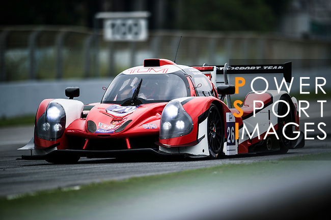 Tockwith Motorsports, #26 Ligier JSP3, driven by Nigel Moore and Phil Hanson in action during the Free Practice 2 of the 2016-2017 Asian Le Mans Series Round 1 at Zhuhai Circuit on 29 October 2016, Zhuhai, China.  Photo by Marcio Machado / Power Sport Images