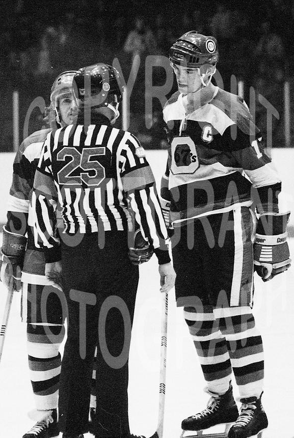Steve Marengere Bobby Smith Ottawa 67's 1977. Photo Scott Grant