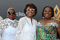 LOS ANGELES - AUG 8:  Karen Waters, Congresswoman Maxine Waters, Koshie Mills at the Heirs Of Afrika 4th Annual International Women of Power Awards at the Marriott Marina Del Rey on August 8, 2021 in Marina Del Rey, CA