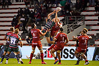 26th September 2020; Toulon, France; European Challenge Cup Rugby, semi-final; RC Toulon versus Leicester Tigers;  Sergio Parisse (RC Toulon) loses the lineout to Tigers