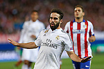 Real Madrid´s Daniel Carvajal during quarterfinal first leg Champions League soccer match at Vicente Calderon stadium in Madrid, Spain. April 14, 2015. (ALTERPHOTOS/Victor Blanco)