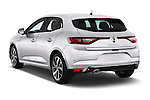 Car pictures of rear three quarter view of 2016 Renault Megane Bose 5 Door Hatchback Angular Rear