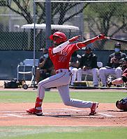 Denzer Guzman - Los Angeles Angels extended 2021 spring training (Bill Mitchell)