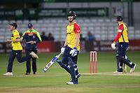 Jimmy Neesham of Essex leaves the field having been dismissed for 28 during Essex Eagles vs Hampshire Hawks, Vitality Blast T20 Cricket at The Cloudfm County Ground on 11th June 2021