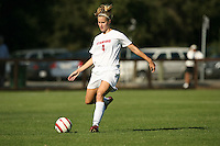 30 October 2005: Allison Falk during Stanford's 0-0 tie to #4 ranked UCLA at Maloney Field in Stanford, CA.