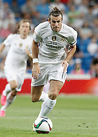Real Madrid's Garet Bale during XXXVI Santiago Bernabeu Trophy. August 18,2015. (ALTERPHOTOS/Acero)