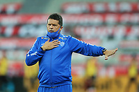 9th June 2021; Arena da Baixada, Curitiba, Brazil; Copa do Brazil, Athletico Paranaense versus Avai; Avai manager Claudinei Oliveira