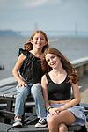 Pre-Bat Mitzvah Portraits<br /> Westchester, New York<br /> Irvington Waterfront